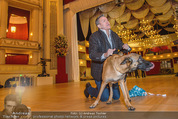ORF backstage am Ball - Staatsoper - Mi 03.02.2016 - Alfons HAIDER mit Sprengstoffsp�rhund19