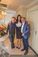 Brooke Shields in der Suite - Grand Hotel - Mi 03.02.2016 - Brooke SHIELDS, Atil KUTOGLU, Richard LUGNER2