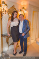 Brooke Shields in der Suite - Grand Hotel - Mi 03.02.2016 - Brooke SHIELDS, Richard LUGNER5
