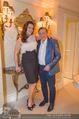 Brooke Shields in der Suite - Grand Hotel - Mi 03.02.2016 - Brooke SHIELDS, Richard LUGNER6