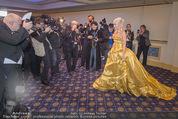 Fototermin Brooke Shields - Grand Hotel - Do 04.02.2016 - Cathy LUGNER vor der Presse, Fotografen34