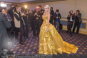 Fototermin Brooke Shields - Grand Hotel - Do 04.02.2016 - Cathy LUGNER vor der Presse, Fotografen35