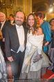 Opernball - Red Carpet - Staatsoper - Do 04.02.2016 - Burkhard ERNST mit Katharina109