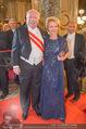 Opernball - Red Carpet - Staatsoper - Do 04.02.2016 - Michael H�UPL mit Ehefrau Barbara135