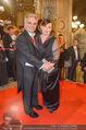 Opernball - Red Carpet - Staatsoper - Do 04.02.2016 - Werner und Martina FAYMANN139