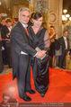 Opernball - Red Carpet - Staatsoper - Do 04.02.2016 - Werner und Martina FAYMANN140