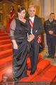 Opernball - Red Carpet - Staatsoper - Do 04.02.2016 - Werner und Martina FAYMANN142