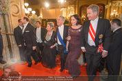Opernball - Red Carpet - Staatsoper - Do 04.02.2016 - Heinz und Margit FISCHER144