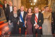 Opernball - Red Carpet - Staatsoper - Do 04.02.2016 - Heinz und Margit FISCHER145