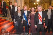 Opernball - Red Carpet - Staatsoper - Do 04.02.2016 - Heinz und Margit FISCHER146