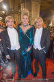 Opernball - Red Carpet - Staatsoper - Do 04.02.2016 - Arnold und Oskar WESS (Botox-Boys), Helena F�RST148