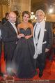 Opernball - Red Carpet - Staatsoper - Do 04.02.2016 - Dominique MEYER, Olga PERETYATKO, Placido DOMINGO29