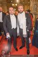 Opernball - Red Carpet - Staatsoper - Do 04.02.2016 - Klemens HALLMANN, Jai COURTNEY71