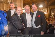 Opernball - Red Carpet - Staatsoper - Do 04.02.2016 - Dominique MEYER, Harald und Daniel SERAFIN74