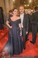 Opernball - Red Carpet - Staatsoper - Do 04.02.2016 - Lena HOSCHEK, Thomas KIRCHGRABNER75