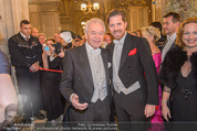 Opernball - Red Carpet - Staatsoper - Do 04.02.2016 - Harald und Daniel SERAFIN77