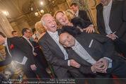 Opernball - Red Carpet - Staatsoper - Do 04.02.2016 - Dagmar SCHELLENBERGER, Harald SERAFIN, Dominique MEYER82