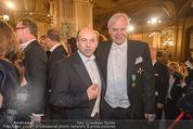 Opernball - Red Carpet - Staatsoper - Do 04.02.2016 - Dominique MEYER, Alexander PEREIRA90
