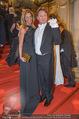 Opernball - Red Carpet - Staatsoper - Do 04.02.2016 - Heinz HANNER, Verena PFL�GER94