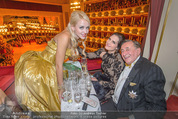 Opernball - Das Fest - Staatsoper - Do 04.02.2016 - Brooke SHIELDS, Richard und Cathy LUGNER10