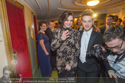Opernball - Das Fest - Staatsoper - Do 04.02.2016 - Brooke SHIELDS am Heimweg100