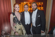 Opernball - Das Fest - Staatsoper - Do 04.02.2016 - Barbara MEIER, Klemens HALLMANN, Jai COURTNEY58