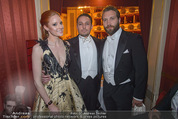 Opernball - Das Fest - Staatsoper - Do 04.02.2016 - Barbara MEIER, Klemens HALLMANN, Jai COURTNEY59
