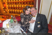 Opernball - Das Fest - Staatsoper - Do 04.02.2016 - Brooke SHIELDS, Richard LUGNER6