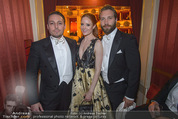 Opernball - Das Fest - Staatsoper - Do 04.02.2016 - Barbara MEIER, Klemens HALLMANN, Jai COURTNEY60
