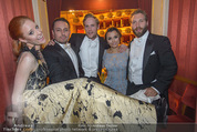 Opernball - Das Fest - Staatsoper - Do 04.02.2016 - Barbara MEIER, Klemens HALLMANN, Jai COURTNEY, Jack FOX, S.BARKS64