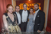 Opernball - Das Fest - Staatsoper - Do 04.02.2016 - Barbara MEIER, Klemens HALLMANN, Jai COURTNEY, Jack FOX, S.BARKS67