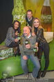 Coca-Cola life Präsentation - MQ Arena 21 - Mi 17.02.2016 - Rudi ROUBINEK, Gina ALABA, Tatjana CATIC, Philipp BODZENTA4