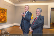 Chagall bis Malewitsch Ausstellungseröffnung - Albertina - Do 25.02.2016 - Klaus Albrecht SCHR�DER, Heinz FISCHER1