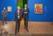 Chagall bis Malewitsch Ausstellungseröffnung - Albertina - Do 25.02.2016 - Klaus Albrecht SCHR�DER, Heinz FISCHER11