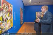 Chagall bis Malewitsch Ausstellungseröffnung - Albertina - Do 25.02.2016 - Klaus Albrecht SCHR�DER, Heinz FISCHER12