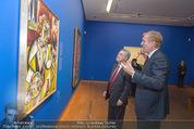 Chagall bis Malewitsch Ausstellungseröffnung - Albertina - Do 25.02.2016 - Klaus Albrecht SCHR�DER, Heinz FISCHER13