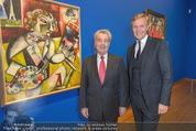 Chagall bis Malewitsch Ausstellungseröffnung - Albertina - Do 25.02.2016 - Klaus Albrecht SCHR�DER, Heinz FISCHER14