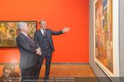 Chagall bis Malewitsch Ausstellungseröffnung - Albertina - Do 25.02.2016 - Klaus Albrecht SCHR�DER, Heinz FISCHER24