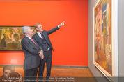 Chagall bis Malewitsch Ausstellungseröffnung - Albertina - Do 25.02.2016 - Klaus Albrecht SCHR�DER, Heinz FISCHER25