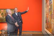 Chagall bis Malewitsch Ausstellungseröffnung - Albertina - Do 25.02.2016 - Klaus Albrecht SCHR�DER, Heinz FISCHER26