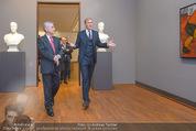 Chagall bis Malewitsch Ausstellungseröffnung - Albertina - Do 25.02.2016 - Klaus Albrecht SCHR�DER, Heinz FISCHER3