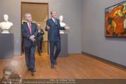 Chagall bis Malewitsch Ausstellungseröffnung - Albertina - Do 25.02.2016 - Klaus Albrecht SCHR�DER, Heinz FISCHER4