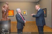 Chagall bis Malewitsch Ausstellungseröffnung - Albertina - Do 25.02.2016 - Klaus Albrecht SCHR�DER, Heinz FISCHER7