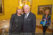 Chagall bis Malewitsch Ausstellungseröffnung - Albertina - Do 25.02.2016 - Peter WECK mit Tochter Barbara70