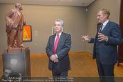 Chagall bis Malewitsch Ausstellungseröffnung - Albertina - Do 25.02.2016 - Klaus Albrecht SCHR�DER, Heinz FISCHER8