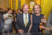 Chagall bis Malewitsch Ausstellungseröffnung - Albertina - Do 25.02.2016 - Bernhard RAMSAUER mit Ehefrau Conny89