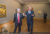 Chagall bis Malewitsch Ausstellungseröffnung - Albertina - Do 25.02.2016 - Klaus Albrecht SCHR�DER, Heinz FISCHER9