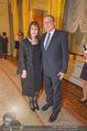 Chagall bis Malewitsch Ausstellungseröffnung - Albertina - Do 25.02.2016 - Dmitri LJUBINSKI (russischer Botschafter) mit Ehefrau97