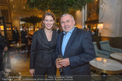 The Bank Opening - Park Hyatt Vienna - Di 01.03.2016 - Monique DEKKER, Alfred GUSENBAUER1
