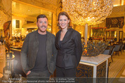 The Bank Opening - Park Hyatt Vienna - Di 01.03.2016 - Rene BENKO, Monique DEKKER13